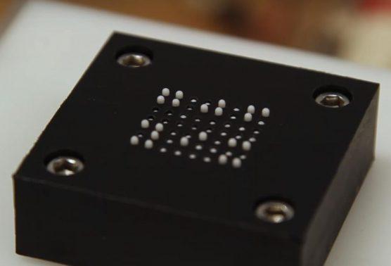 Betaalbare e-reader met braille in de maak