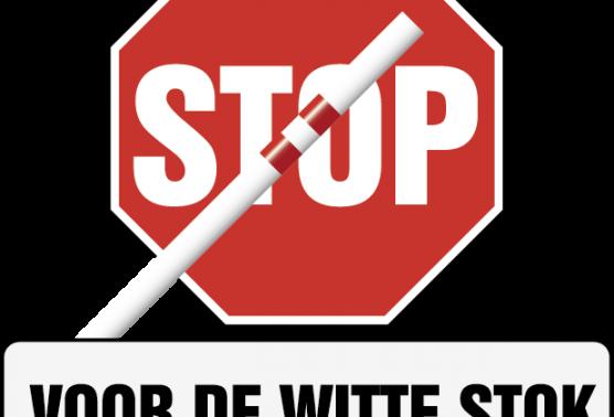 Stop voor de witte stok
