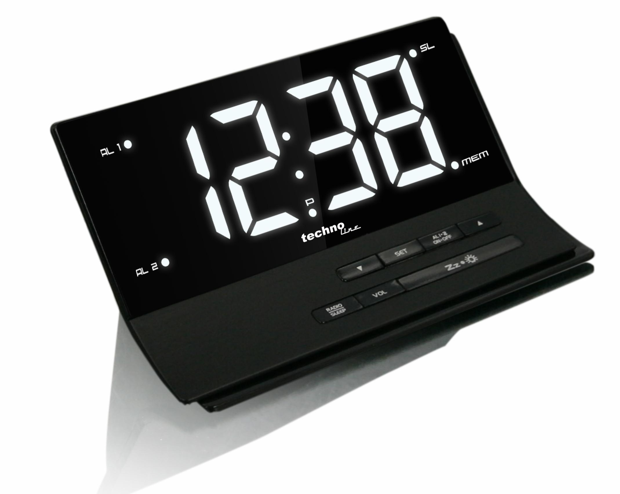Wekkerradio Met Licht : Soundmaster ur gr projectie wekkerradio wake up light groen