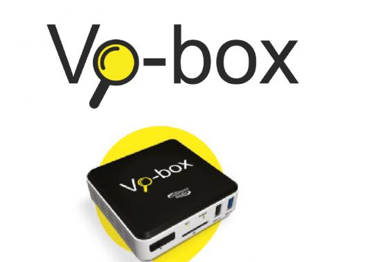 De Vo-box: vergrote ondertiteling